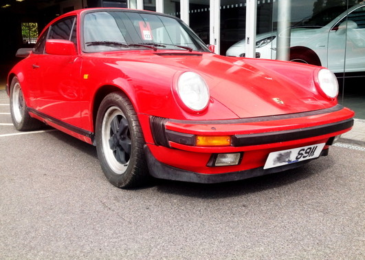 This '85 3.2 Carrera will receive a ground-up restoration from Bournemouth OPC.