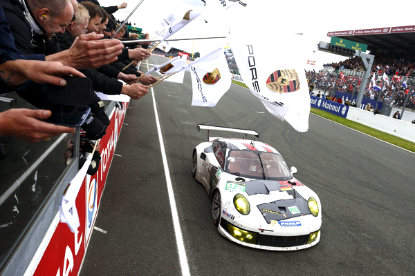 Porsche 911 GT3 RSR Team Manthey Le Mans