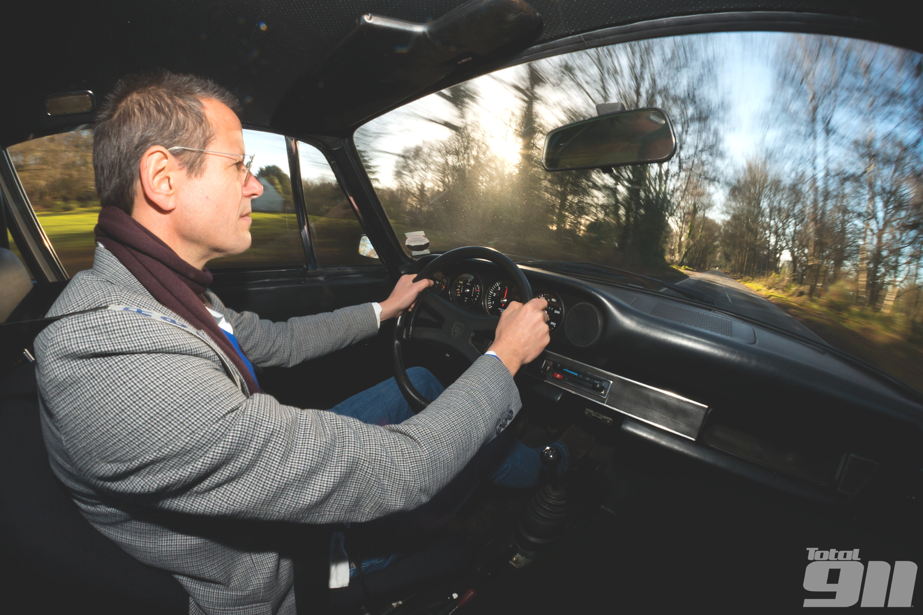 We get behind the wheel of the incredibly rare Porsche 911 Carrera 2.7 RSH