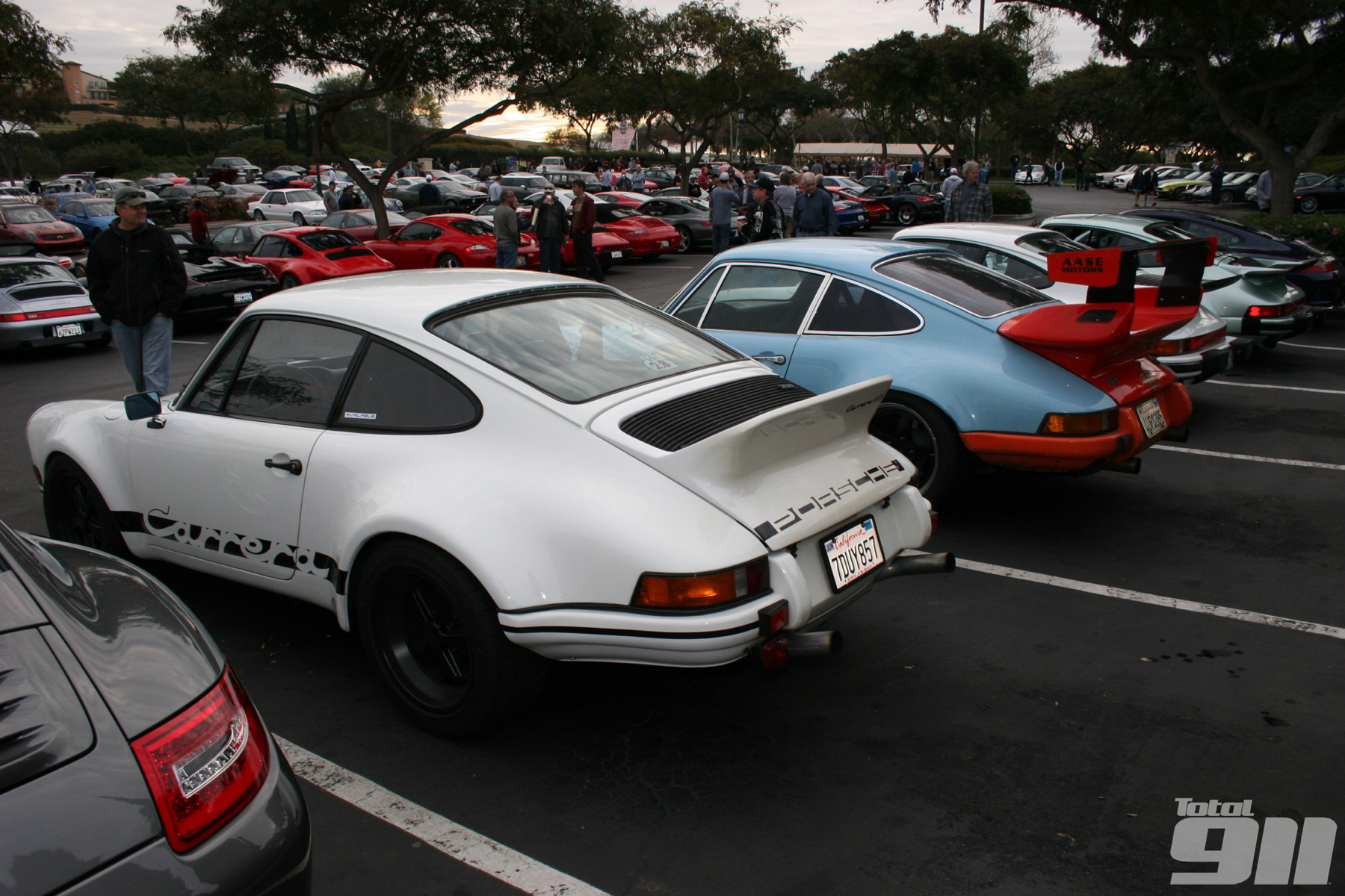 In our revamped Living the legend section, Tony McGuiness attends the famous 'Cars and Coffee' event.