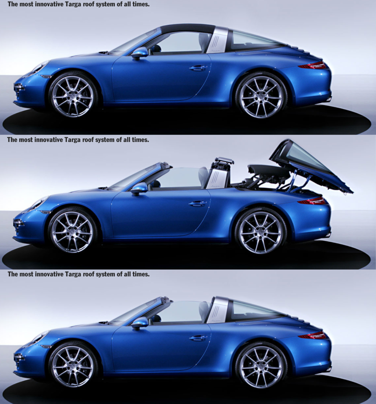 new porsche 911 targa first pictures revealed total 911. Black Bedroom Furniture Sets. Home Design Ideas