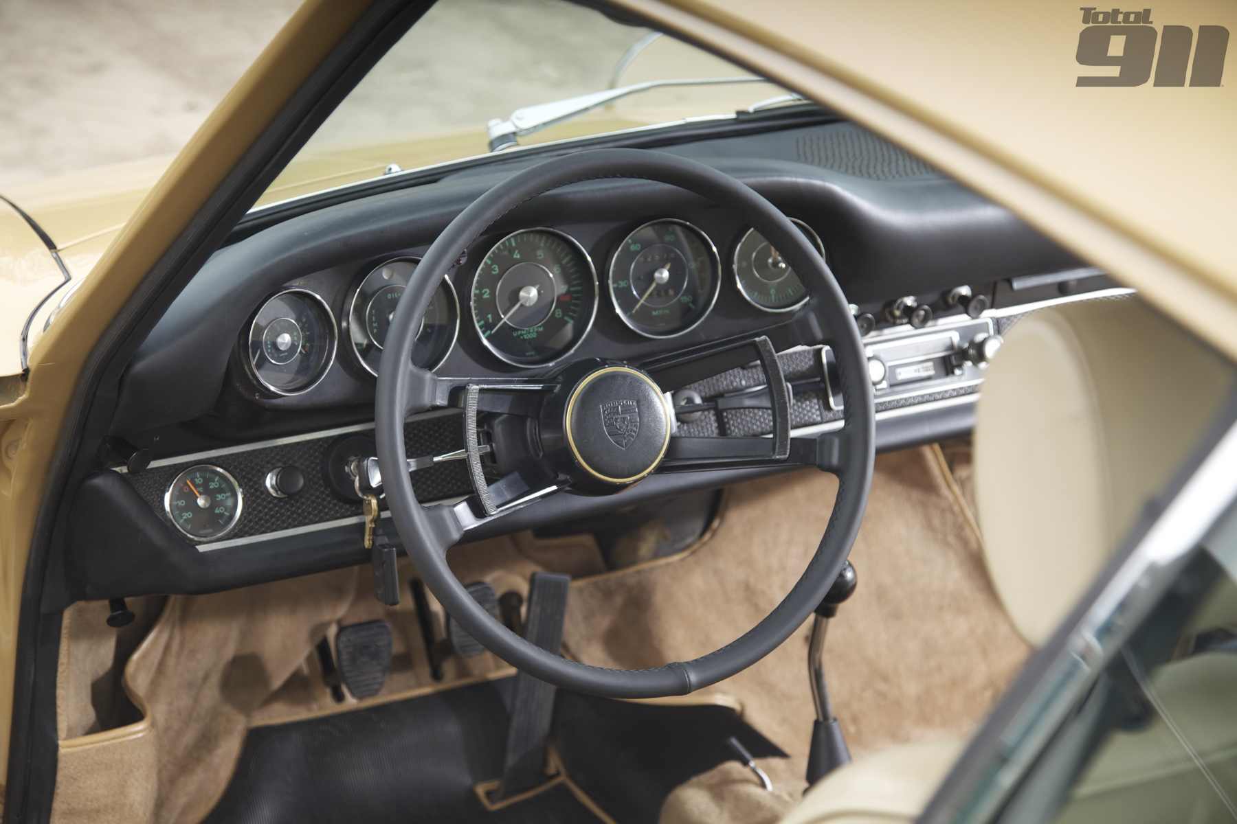 1967 911S leather steering wheel