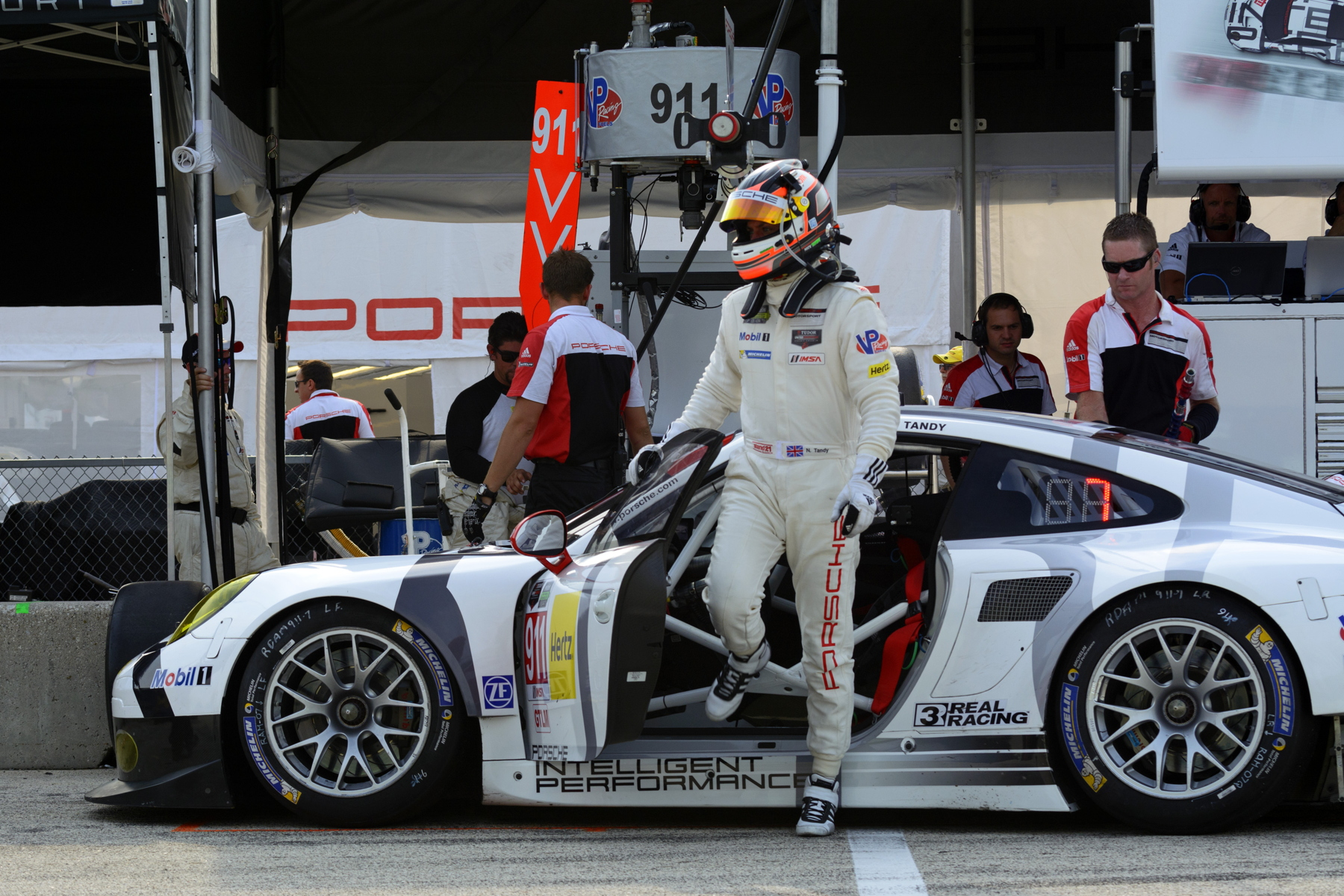 Nick Tandy's hopes of winning the 2014 United SportsCar Championship are looking increasingly slim after another tough weekend.