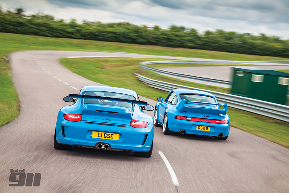 993 RS v 997 GT3 RS: the Rennsport showdown