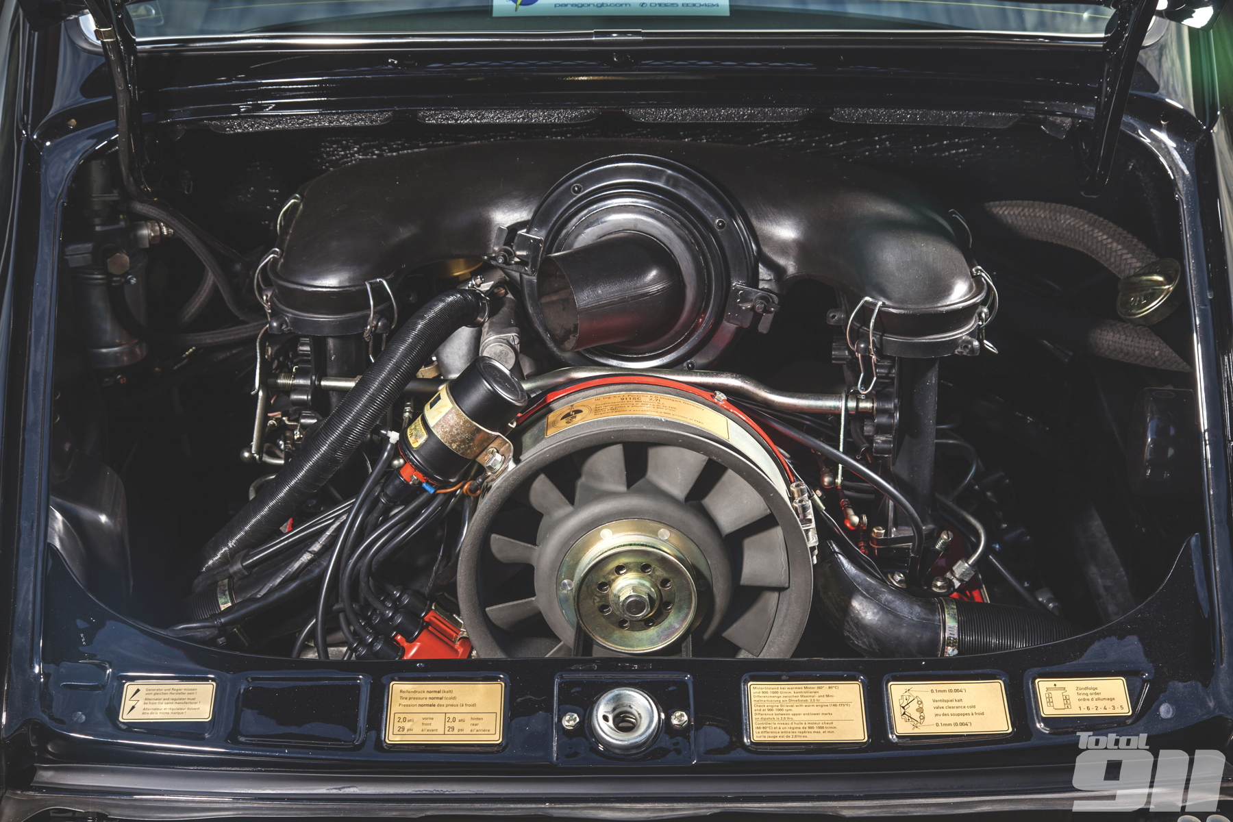 2.7 RS engine