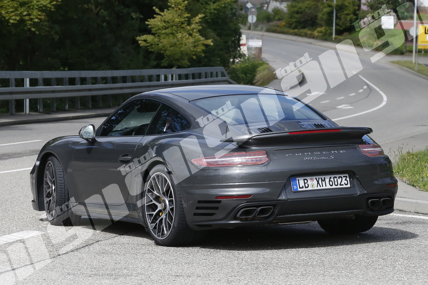 Exclusive New Porsche 911 Turbo S Spy Shots Put 992 Rumours To Bed Total 911