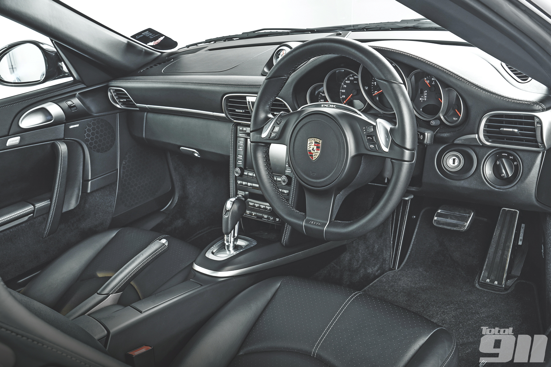 997 Carrera GTS interior