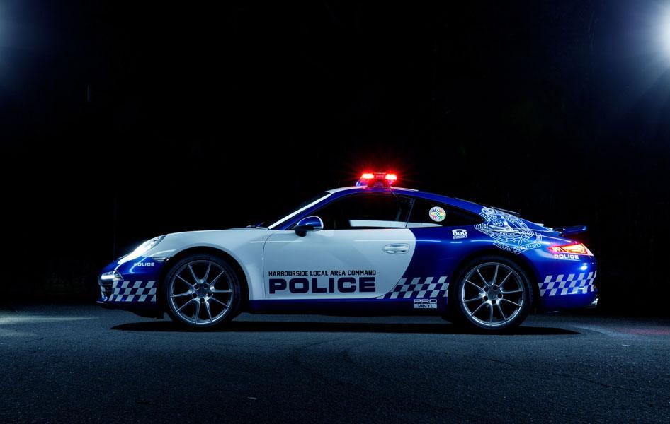Police 911 side