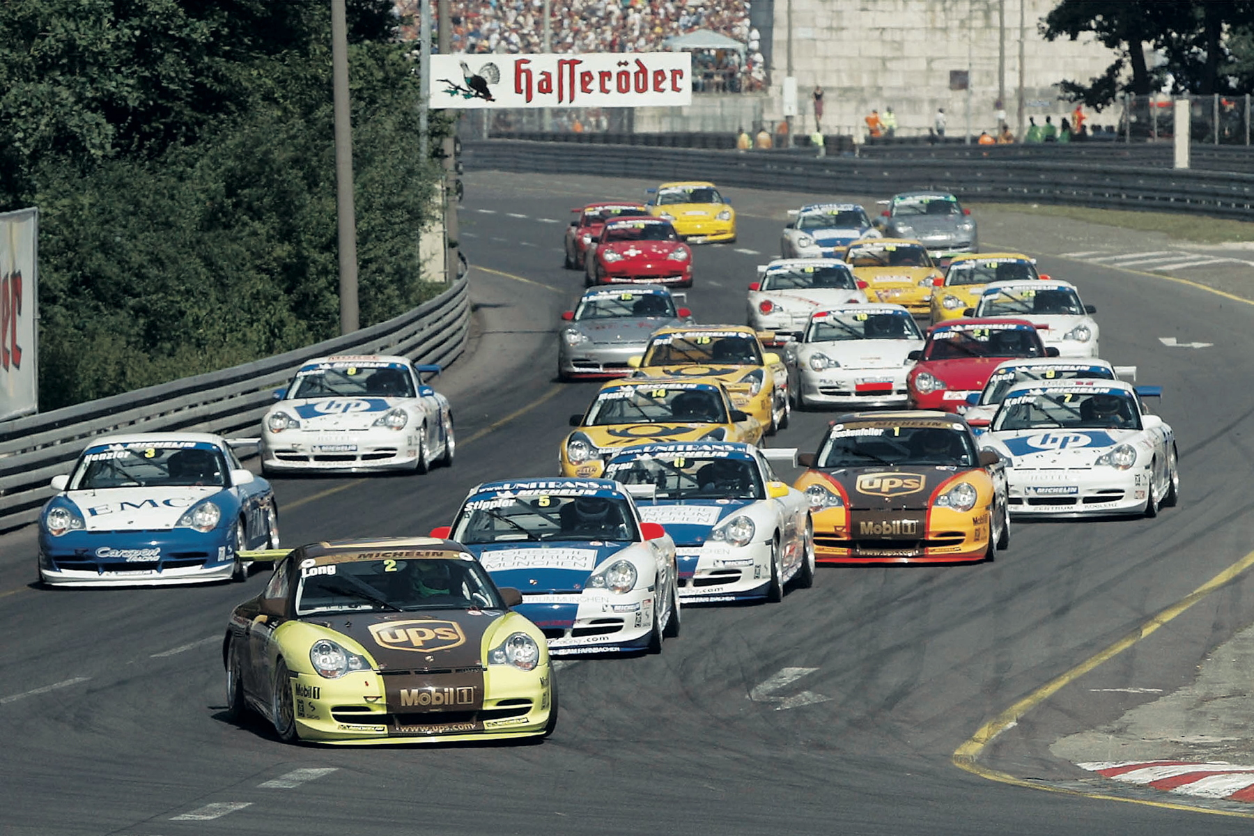 ...and we chart the history of the one-make series it raced in with our '25 years of Carrera Cup' celebration.
