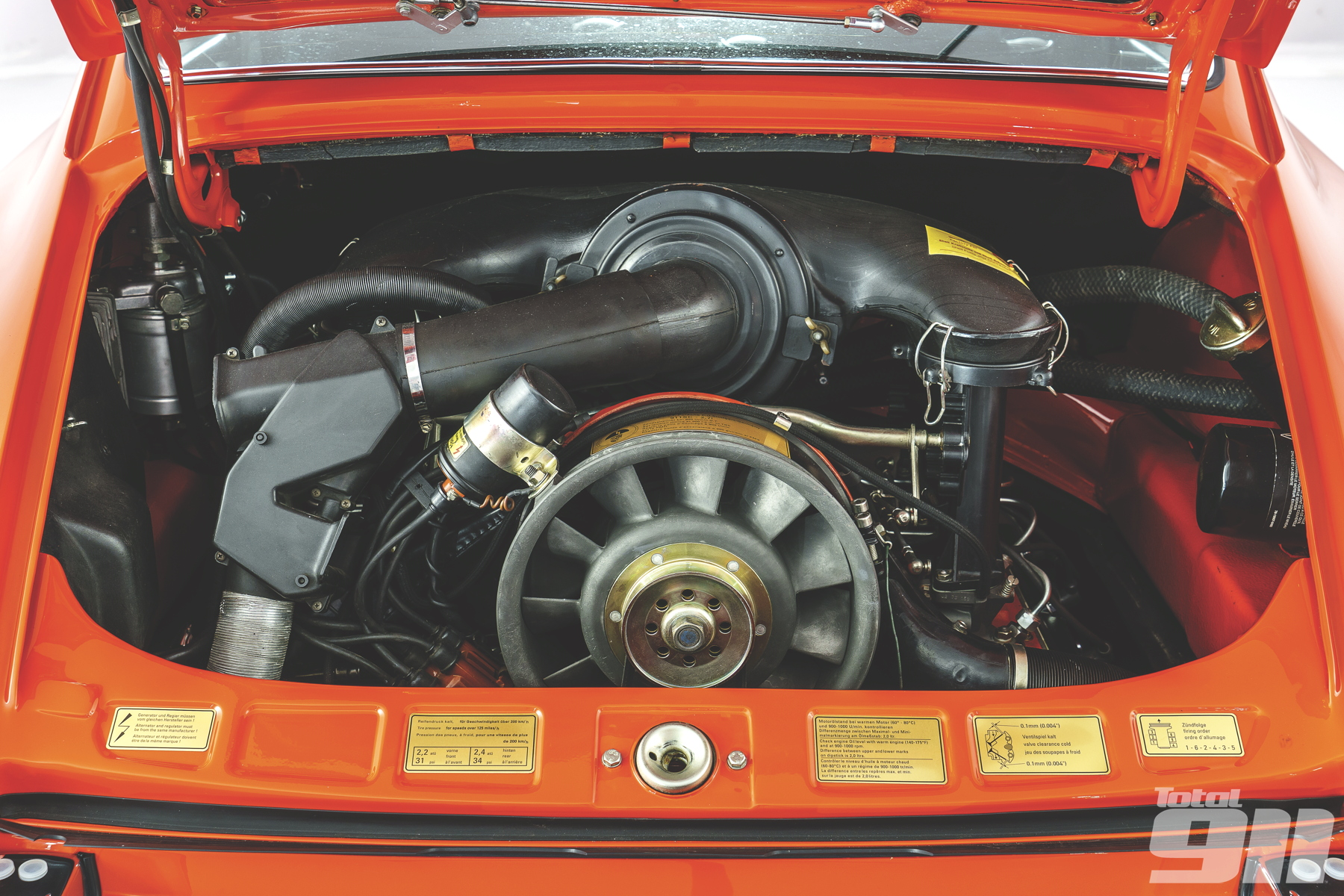 Porsche 911 Carrera RS engine