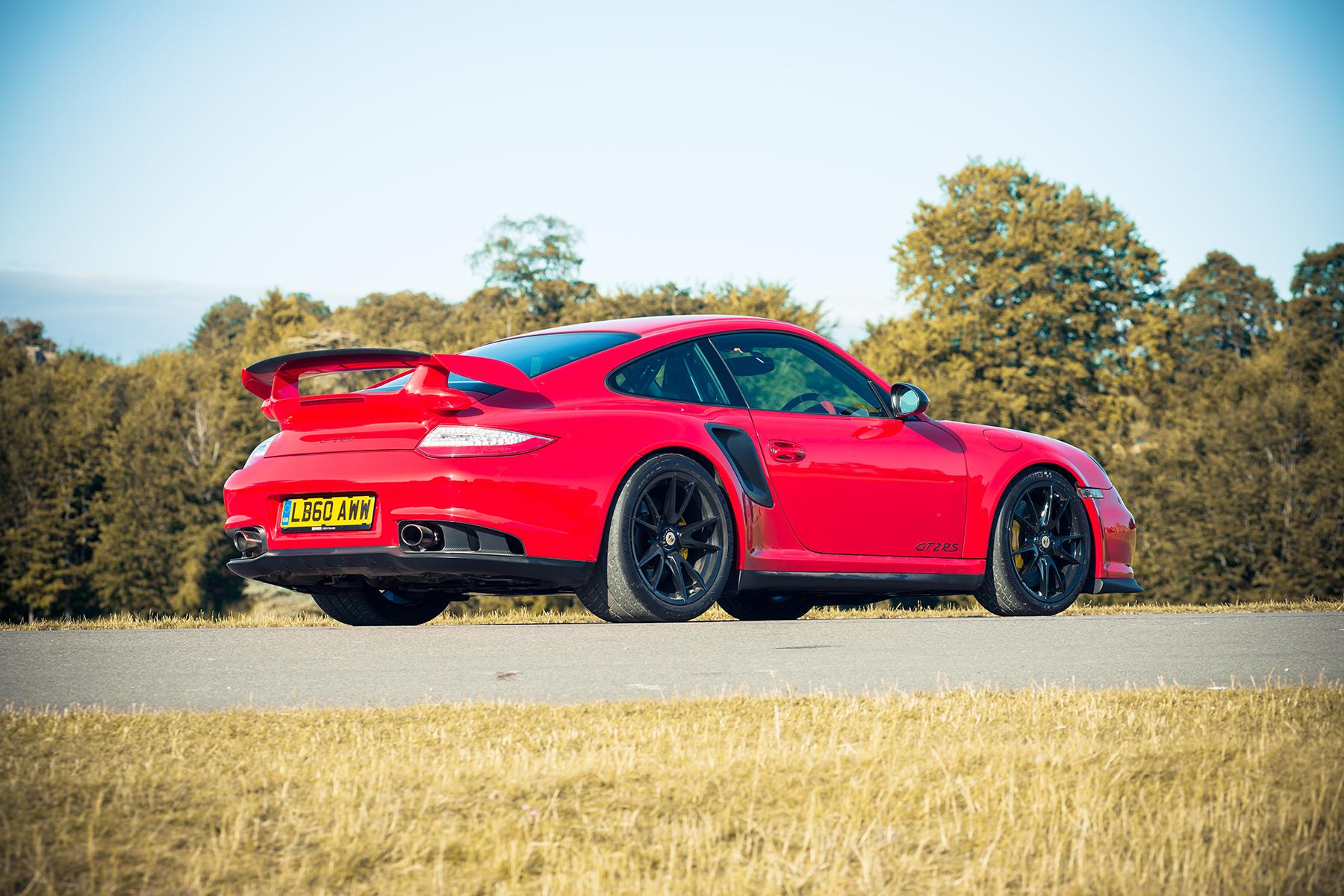 Porsche 997 GT2 RS rear
