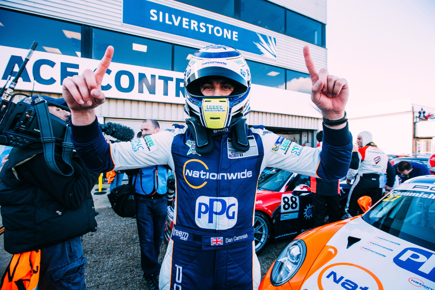 Cammish has utterly dominated the 2015 Carrera Cup GB season with the title just rewards for his efforts.