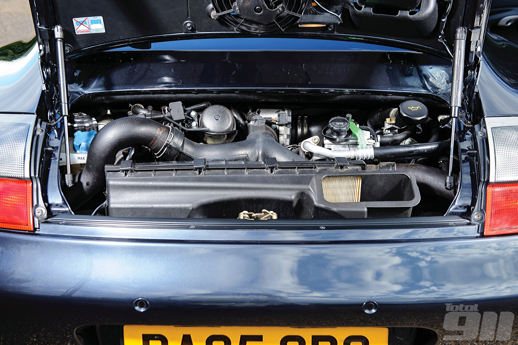 996 Turbo S engine