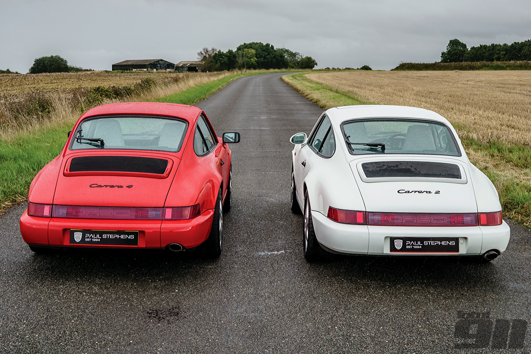 porsche 964 head to head carrera 2 vs carrera 4 total 911. Black Bedroom Furniture Sets. Home Design Ideas