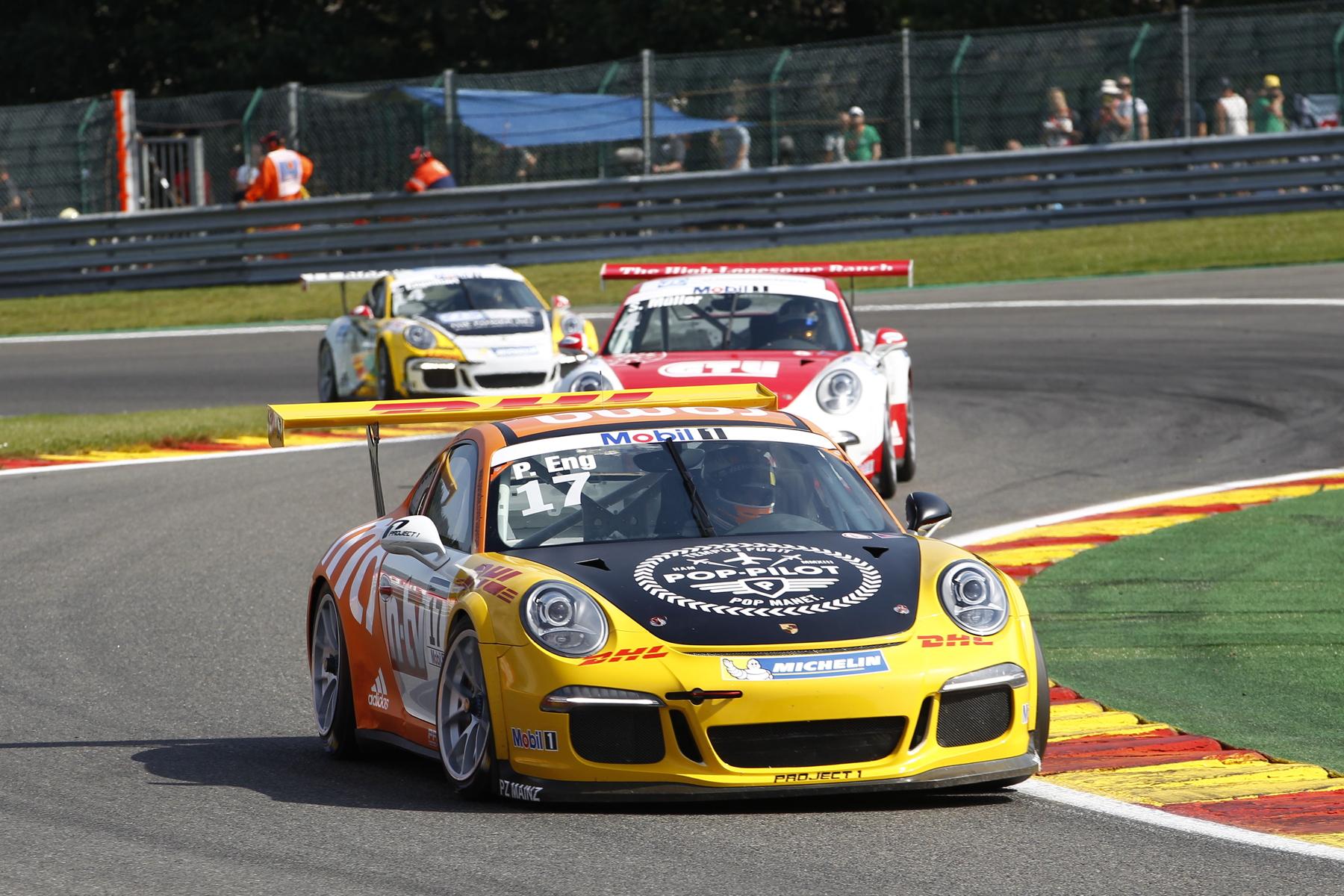 Porsche Mobil 1 Supercup Spa 2015