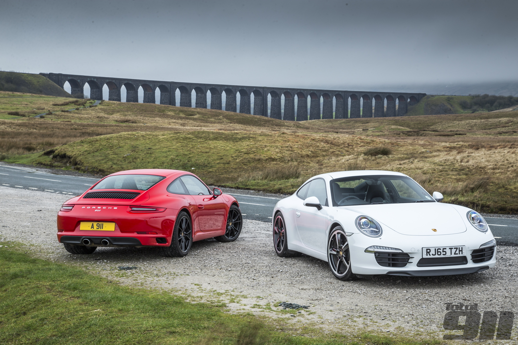 Another Porsche 991 Gen2 (this time in standard Carrera spec) goes up against its immediate forebear.
