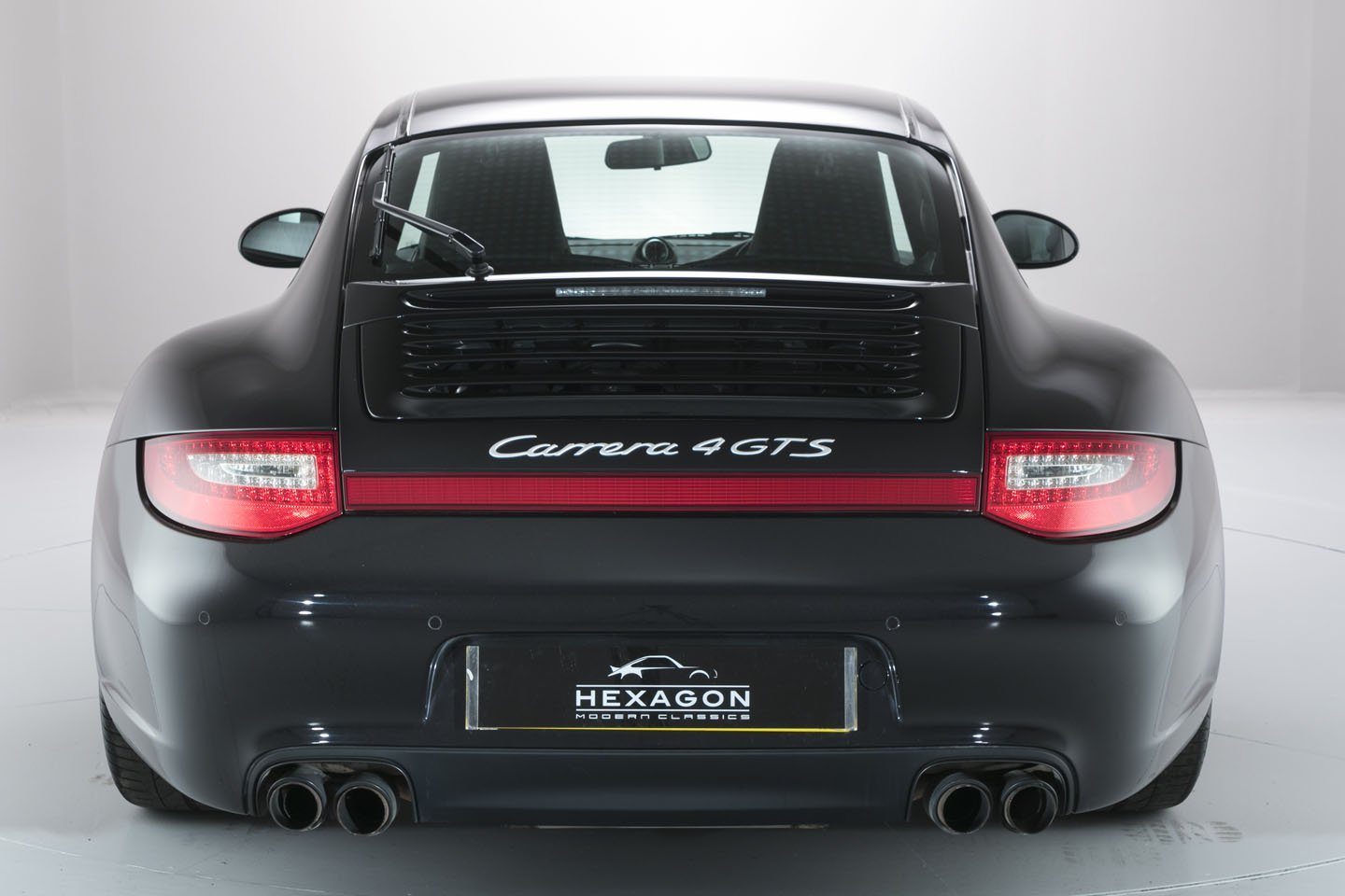 997 C4 GTS Hexagon rear