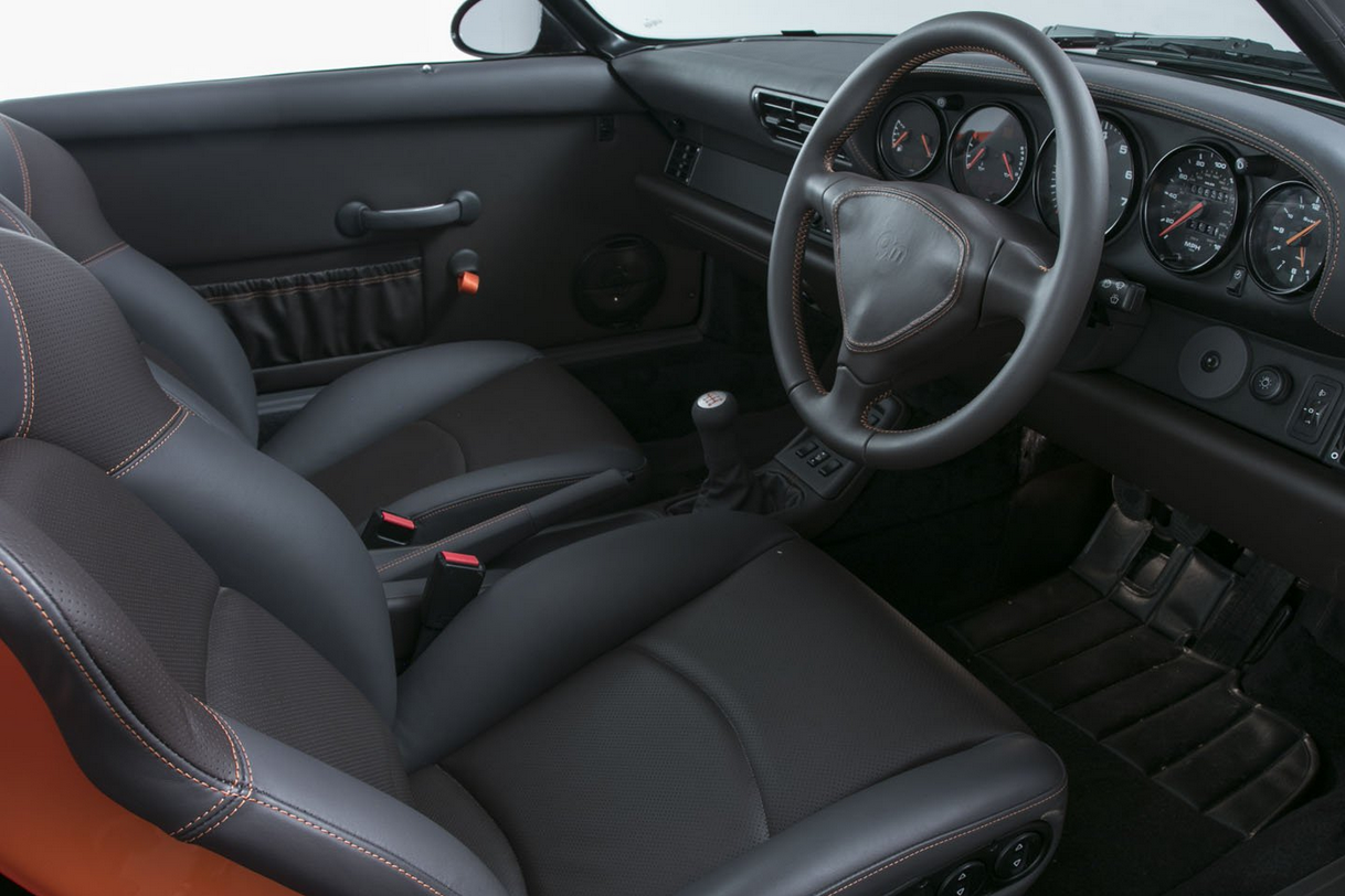 993 Speedster interior