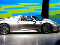 Porsche 918 Spyder Frankfurt feature