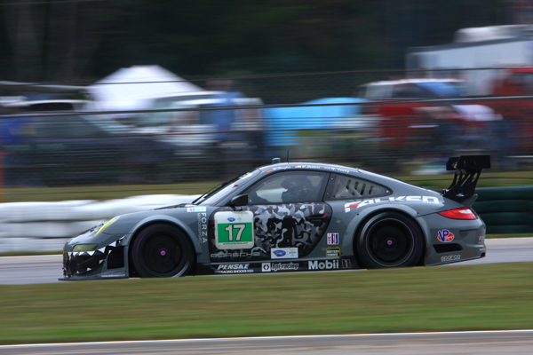 The Team Falken 911 GT3 RSR sported a special, fan-designed livery for this year's Petit Le Mans.