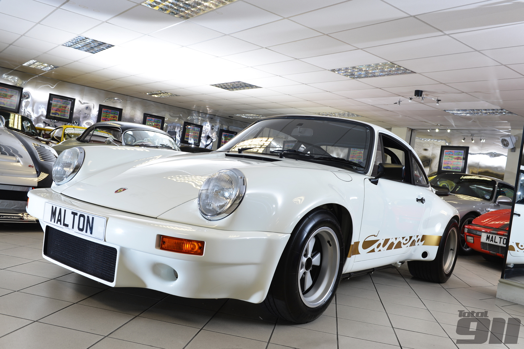 We go behind the scenes at Specialist Cars of Malton, Canepa's British equivalent,.