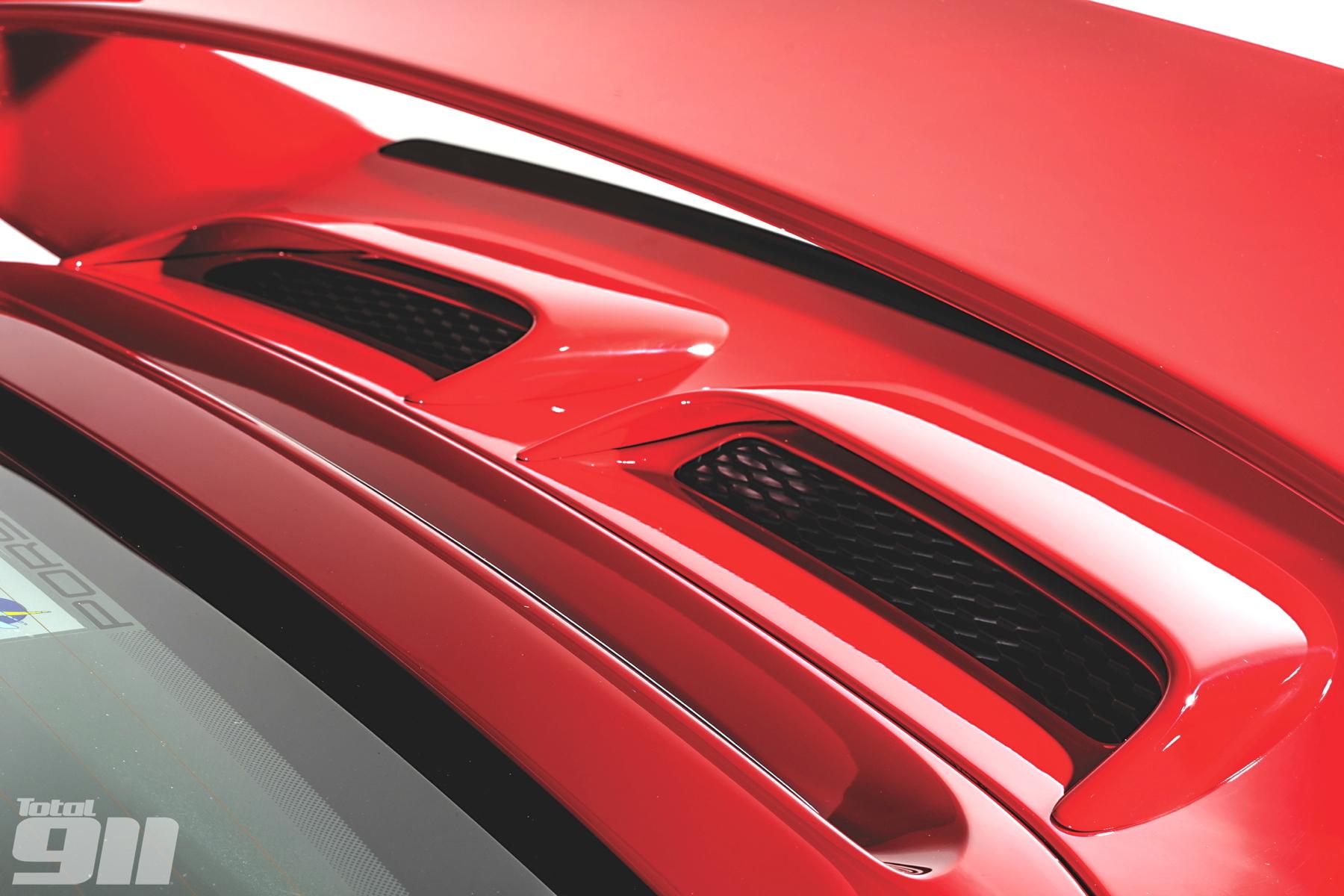 Porsche 997 GT3 Gen1 wing