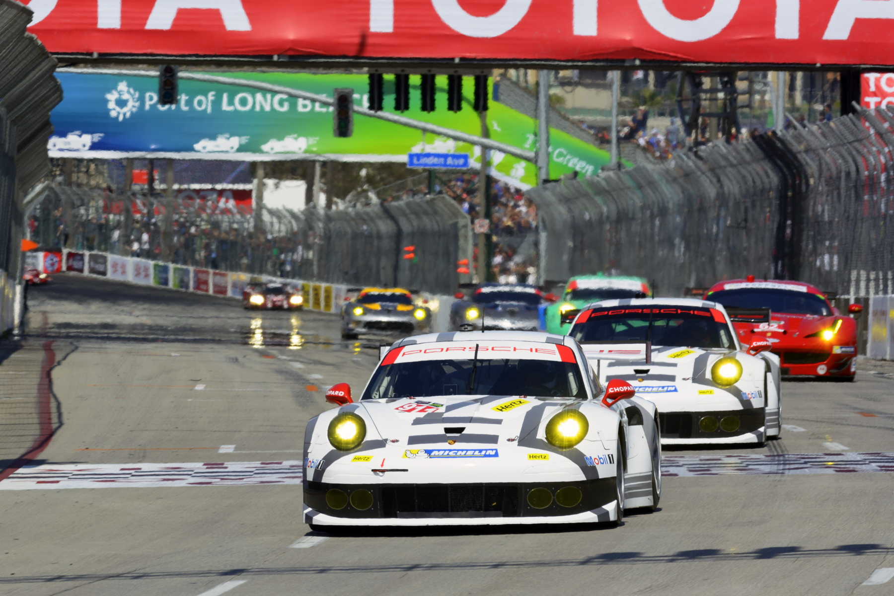 After winning the opening two rounds of the 2014 Tudor USCC season, Porsche North America Racing will be hoping to return to winning ways in California.