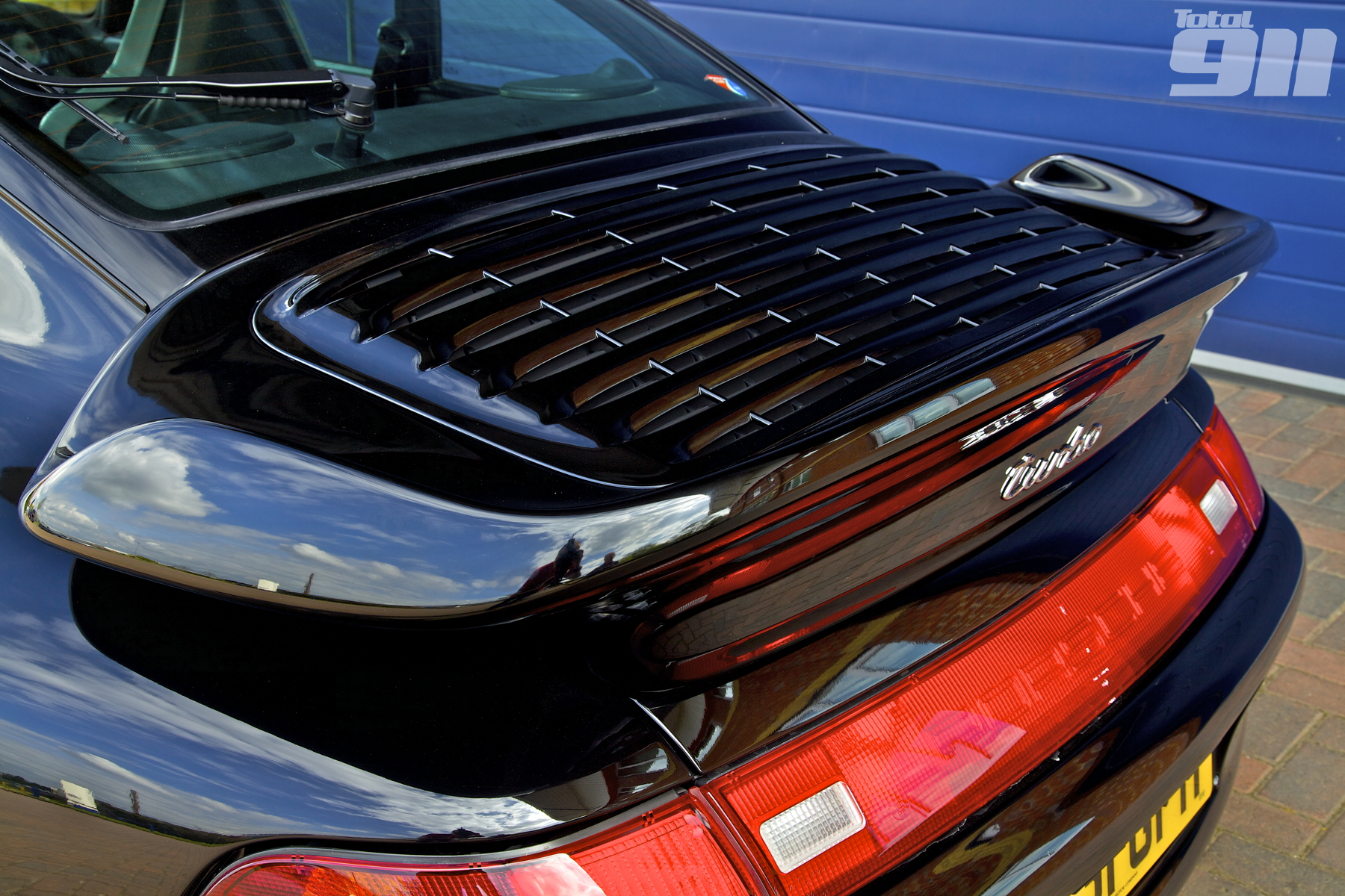 993 Turbo rear wing
