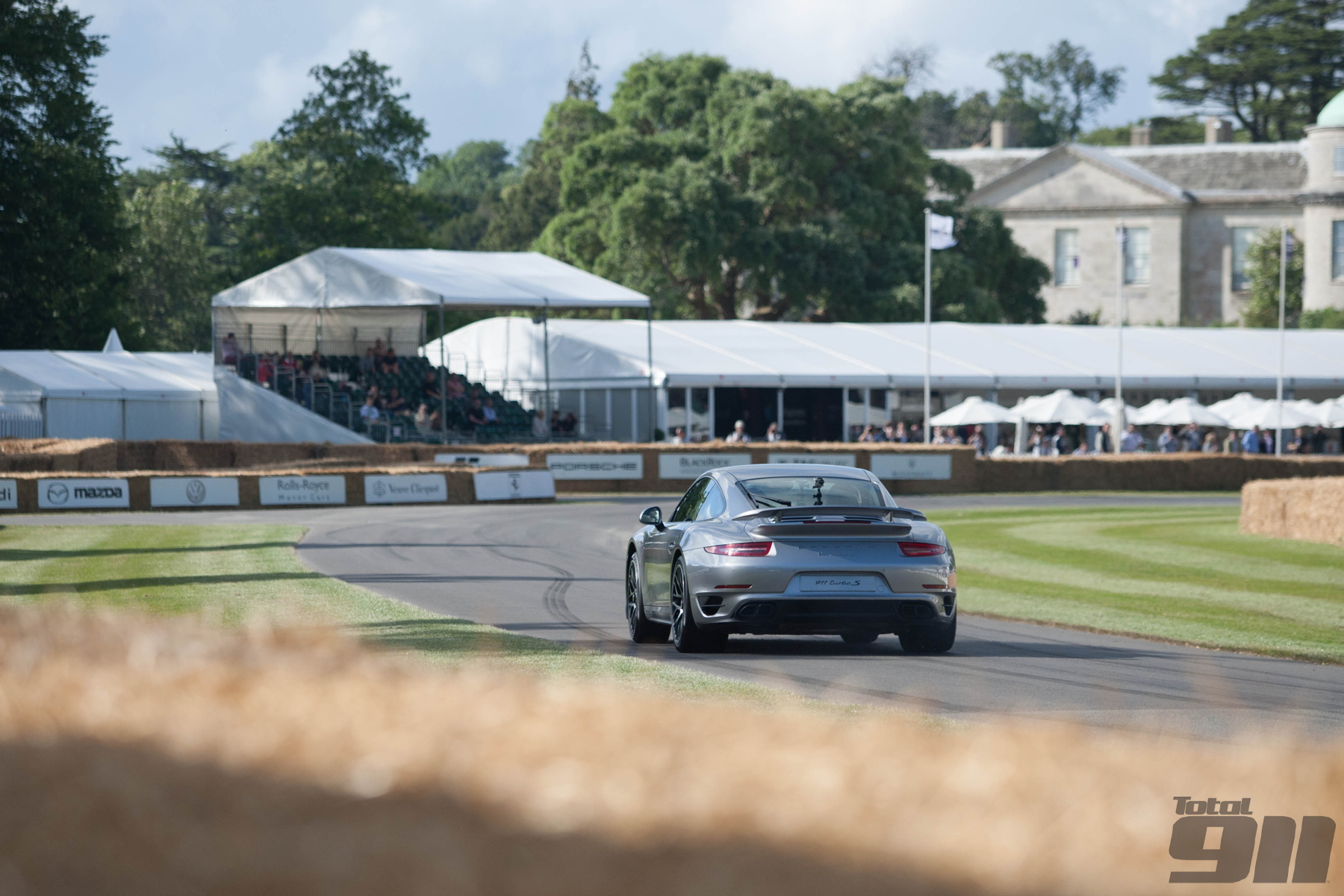 Josh blasts up the Goodwood Festival of Speed hill in a 991 Turbo S. Read about his experiences in the new issue.