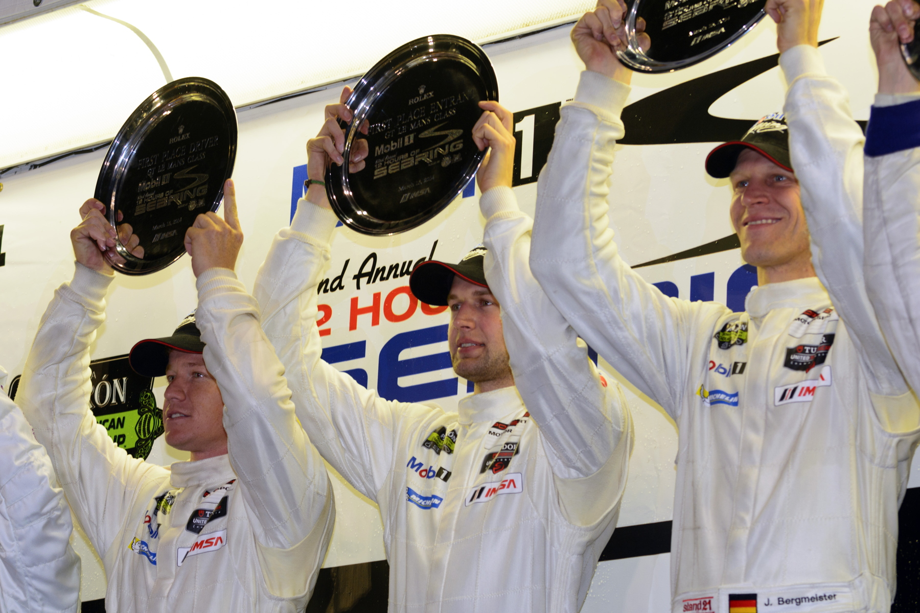 Florida continued to be a happy hunting ground with the no. 912 crew triumphing at Sebring.