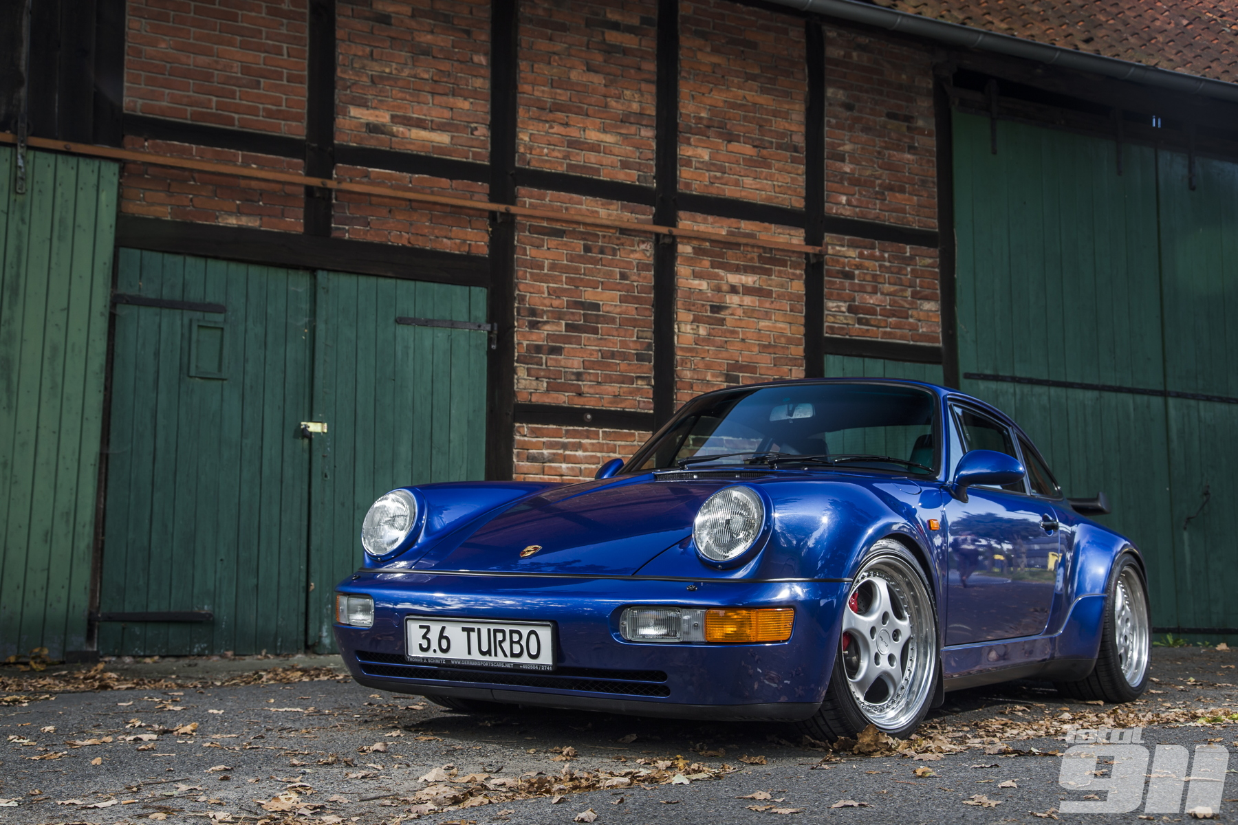 Porsche 964 Turbo 3 6 Bigger Is Better Total 911