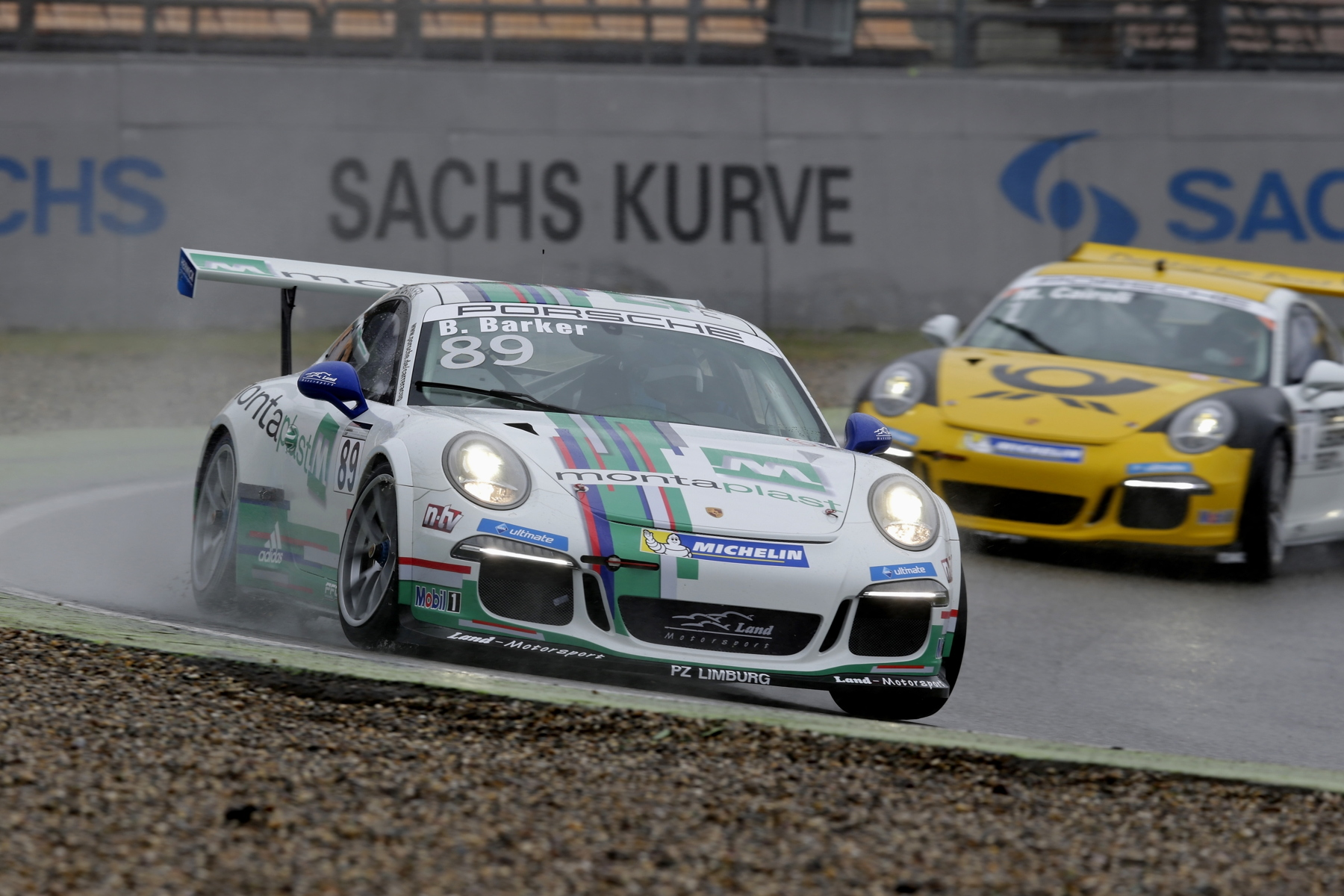 After a good start in the Carrera Cup Deutschland, Ben Barker will be hoping to challenge for his first Supercup victory this weekend.