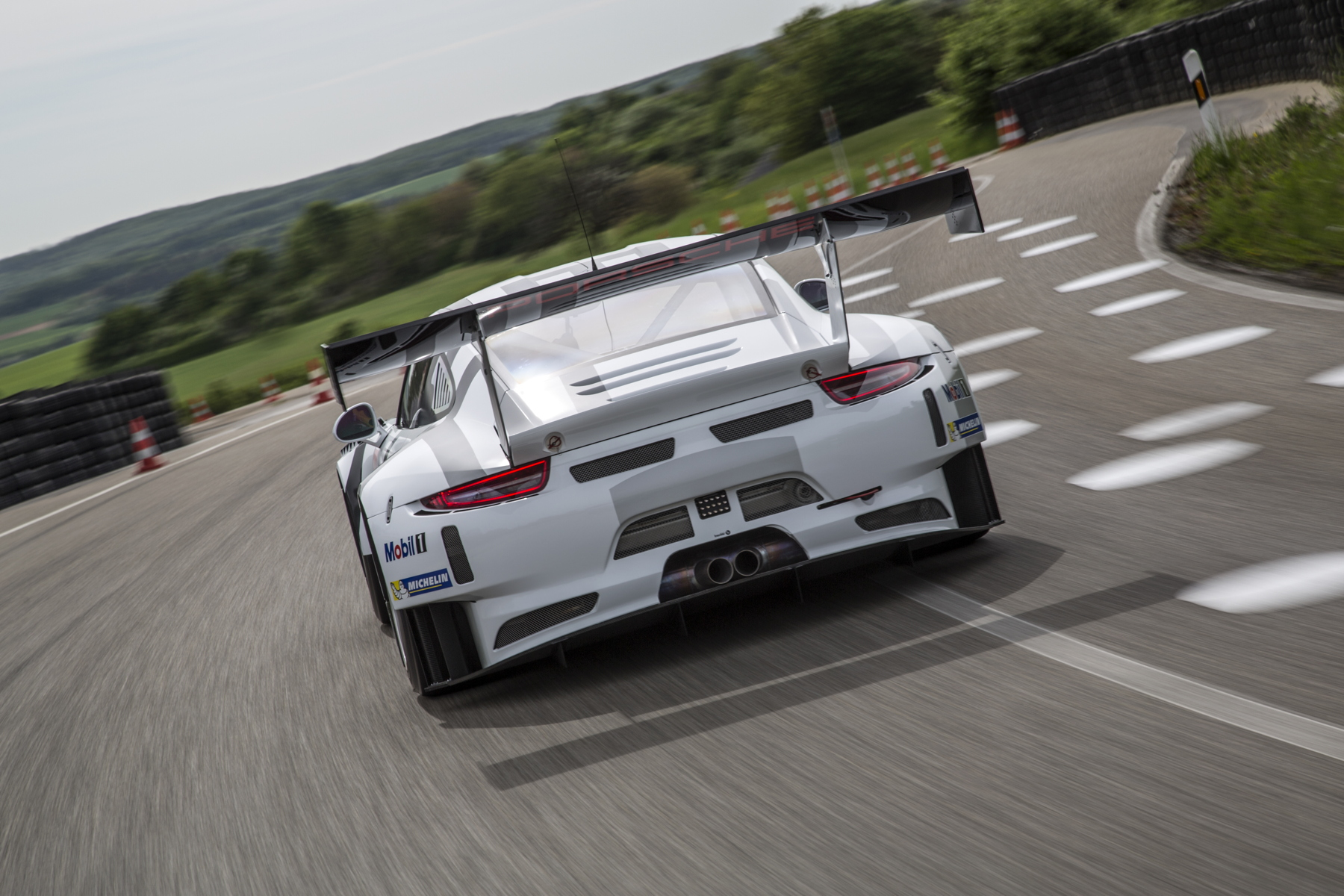 That rear wing will dominate the view of Porsche's competitors in 2016.