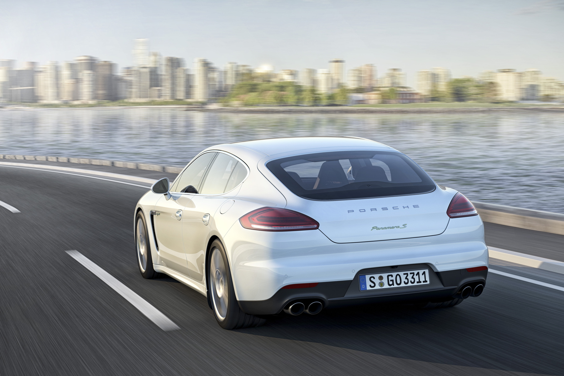 The electric motor's seamlessness has impressed in the Porsche Panamera S E-Hybrid.