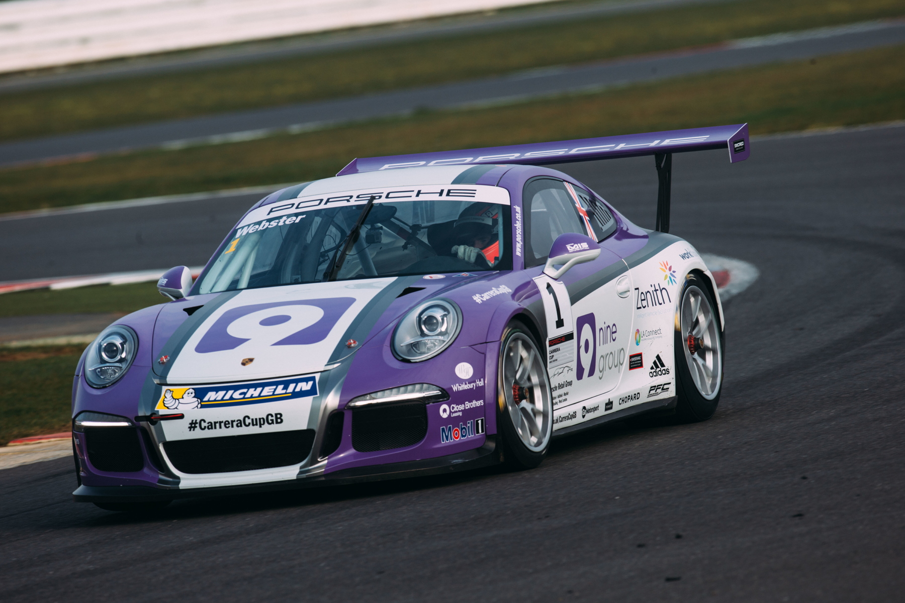 A number of Carrera Cup GB stars, including 2014 champion, Josh Webster will join the Supercup field at Silverstone.