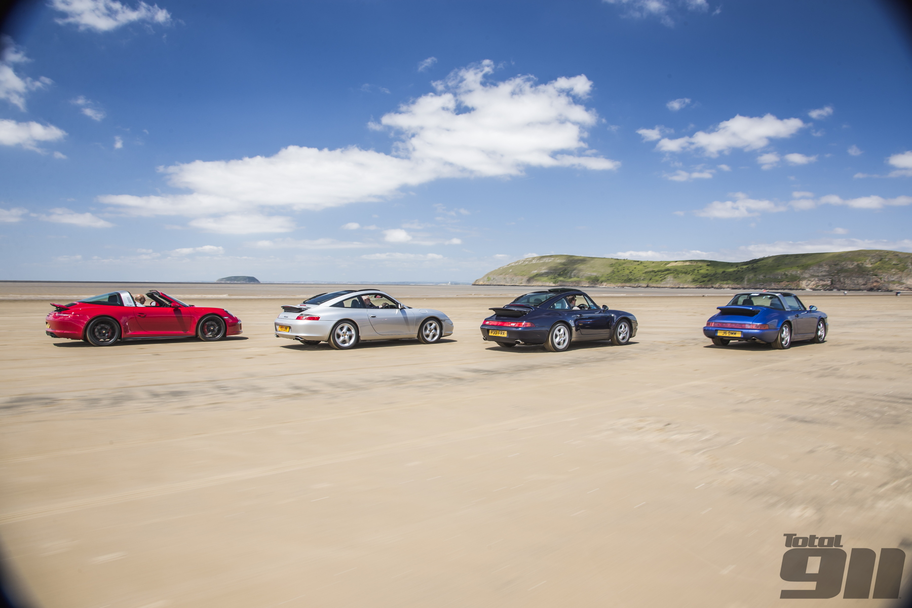 We head to the beach to chart the history of Porsche's open-top Targa concept.