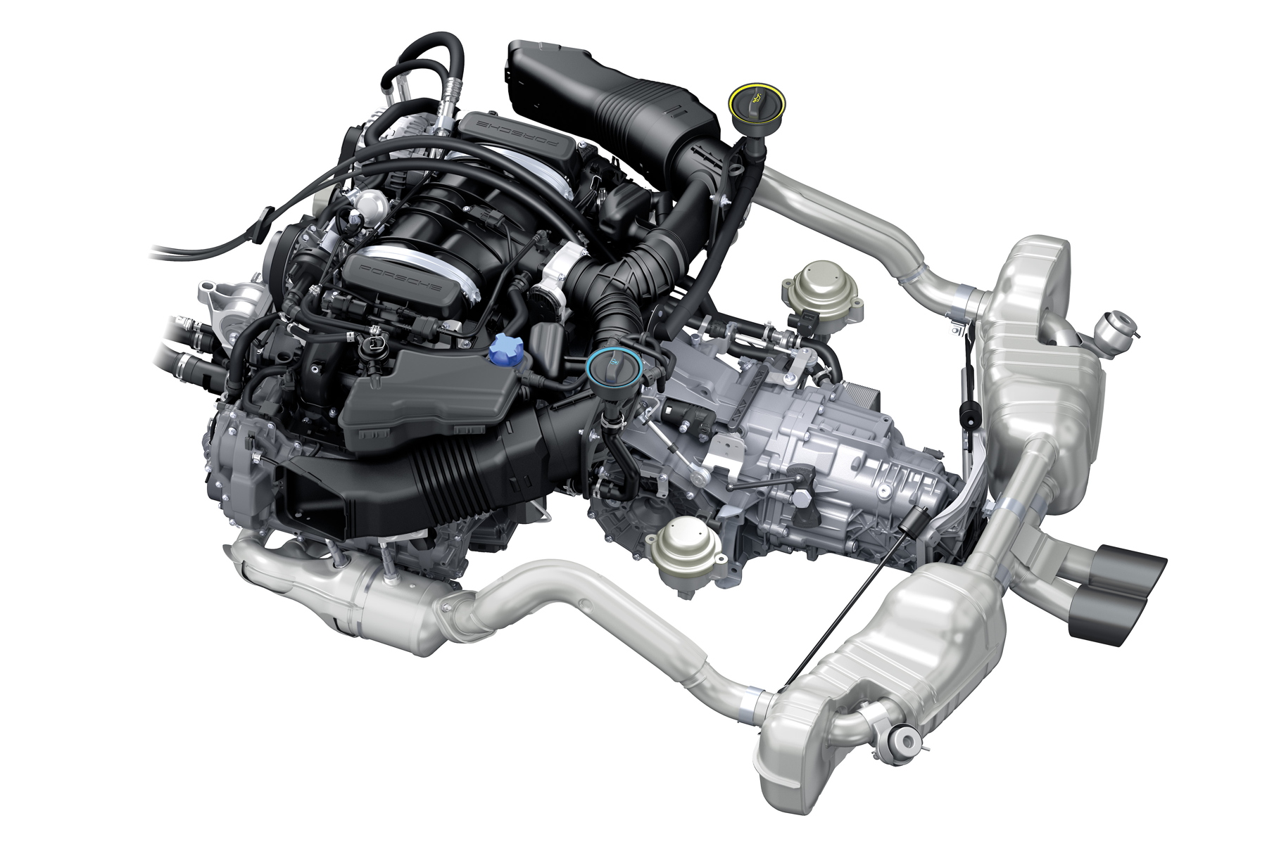 9A1 engine from the GT4 road car will be retained in 385hp guise.