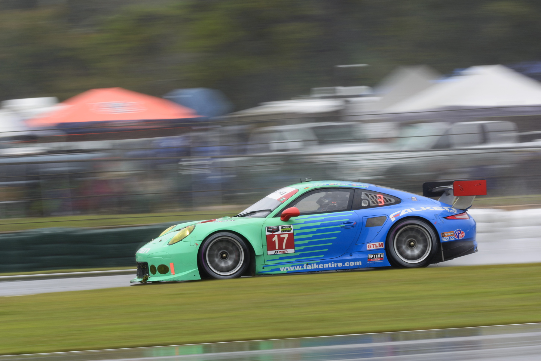 The Walker Racing-run Team Falken bowed out of competition with 11th place overall having been an early contender for the win.