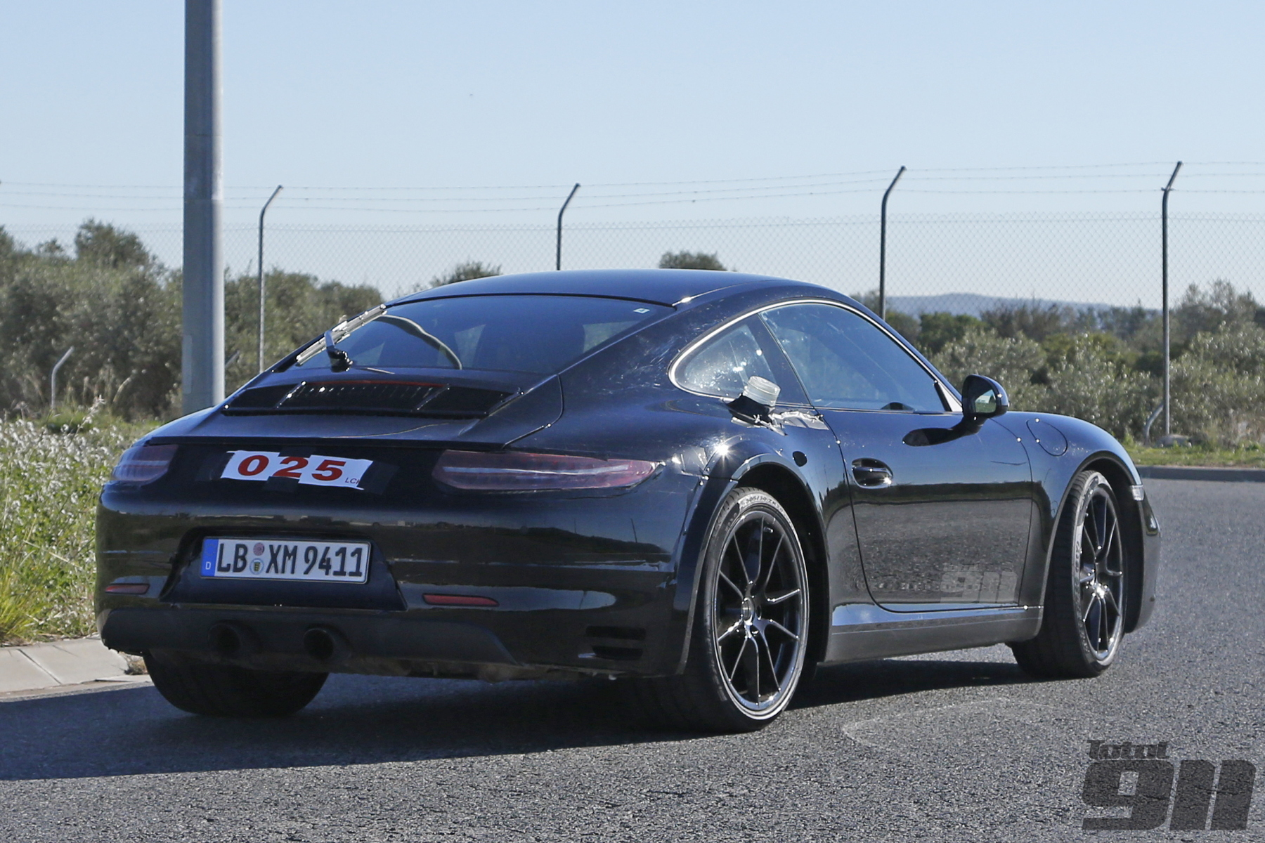 Exclusive Porsche 992 Spotted Testing Already Total 911