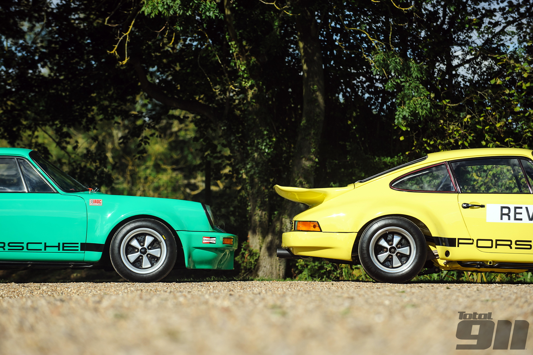 Reunited for the first time since 1974, we fire up these two IROC RSRs for an unforgettable test drive.