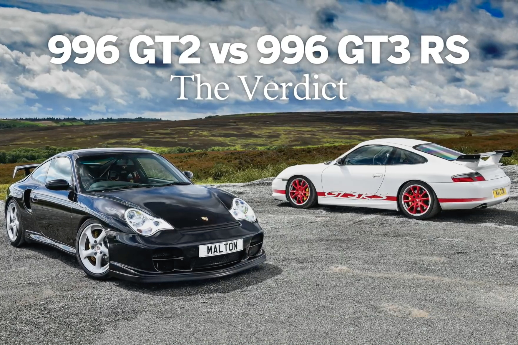video porsche 996 gt2 v gt3 rs our verdict total 911. Black Bedroom Furniture Sets. Home Design Ideas