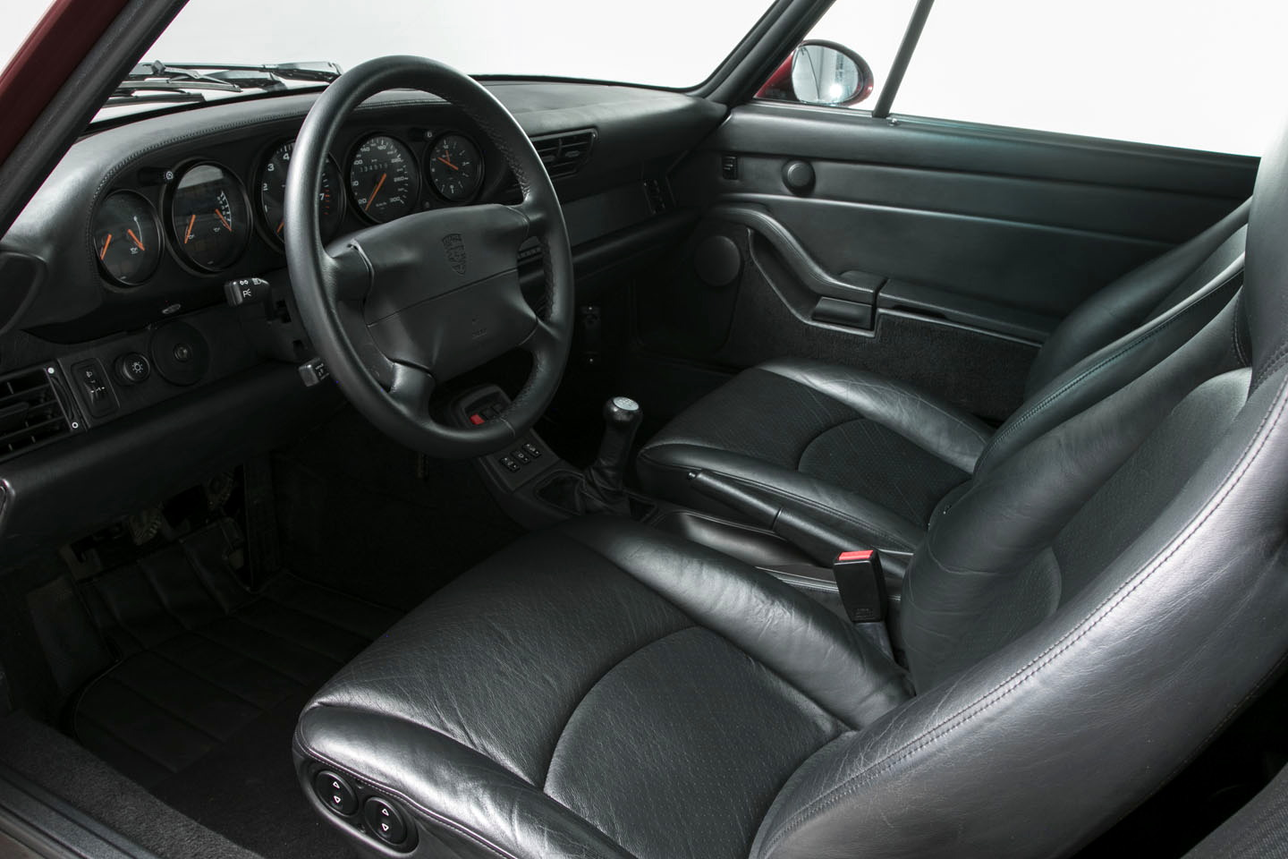 993 C4S Hexagon interior